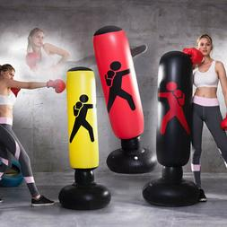 Inflatable Punching Bag Stand, Get Your Kids and Yourself to