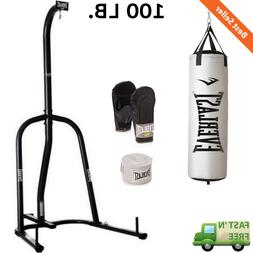 100 lb. Nevatear Heavy Punching Bag Kit with Single Station