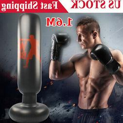 1X 160CM Adult Free-Standing Inflatable Punching Bag Stand S