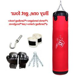"39"" 100CM Training Fitness MMA Boxing Heavy Sand Punching Ba"