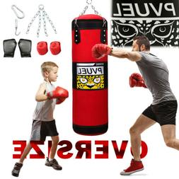 39'' Punching Bag UNFILLED Kick Boxing Heavy MMA Training Gl
