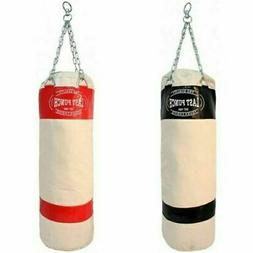 50 punching bag w chains sparring kick