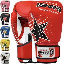 Farabi 6-oz Kids boxing Gloves Punching Bag Pad Workout MMA