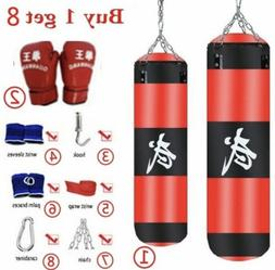 7 Set/Pcs Training Fitness MMA Boxing Punching Bag Empty Spo