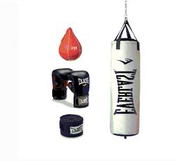 70 Pound Platinum Heavy Bag Kit Hand Wraps Speed Bag Adjusta