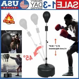 Adult Freestanding Reflex Bag Punching Boxing Ball Speed Tra