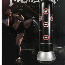 Adult Inflatable Punching Bag Free Standing Boxing Post Kids