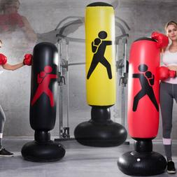 Titan Fitness Inflatable Speed Punching Bag MMA Boxing Training