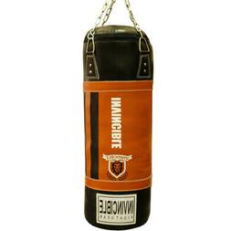 amber heavy boxing punching bag leather heavy