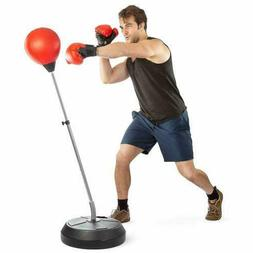 Tech Tools Boxing Ball Set with Punching Ball, Boxing Gloves