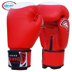 FARABI Boxing Glove Real Grain leather Training Sparring Pun