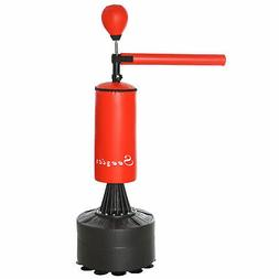 Boxing Punch Bag Stand with Rotating Flexible Arm, Speed Bal