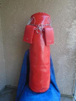 "Boxing,Punching bag ""L""  & Punching  gloves  NO Chain"
