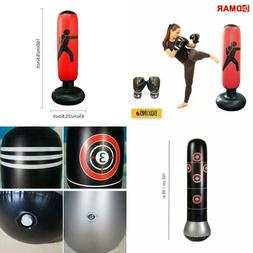 Dmar 160Cm Boxing Punching Bag Inflatable Free-Stand Tumbler
