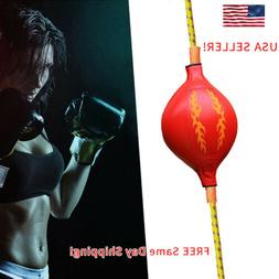 Double End Boxing Speed Ball Boxing Floor Punch Bag Set Spee