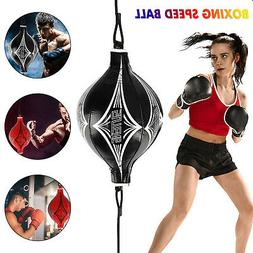Double End MMA Punching Boxing Sparring Speed Ball Fitness T