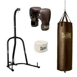 Everlast Dual Station Heavy Punching Bag Boxing Stand