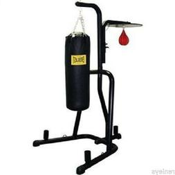 Everlast Dual Station Heavy Punching Bag Boxing Stand MMA Tr