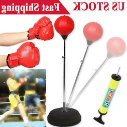 Fight Ball Reflex Punch Boxing Training Boxer Speed Punch He
