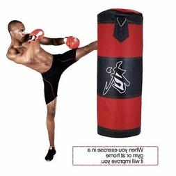 Full Heavy Boxing Set, Empty Punching Bag Gloves Training MM
