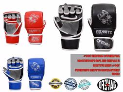 JAYEFO Grappling Training MMA Gloves Sparring UFC Punching bag Cage Fighting