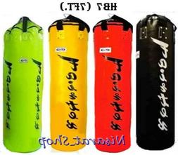 FAIRTEX HEAVY BAG HB7 7 FEETS  BLACK RED YELLOW GREEN MUAY T