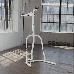 Heavy Bag Stand Dual Station Punching Boxing Exercise MMA Tr