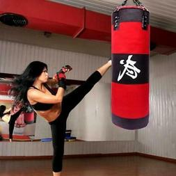 "Heavy Boxing Punching Bag 39"" Speed Training Kicking MMA Wor"