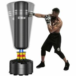 Heavy Boxing Punching Bag Free Standing Cardio Training Kick