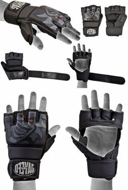 Jayefo High Performance Leather MMA Grappling Gloves Punch B