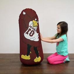 Bonk Fit Inflatable Bop Bag Toy with Standing Punching Bag a