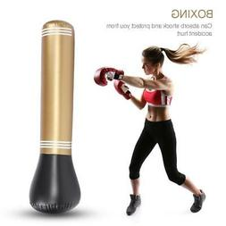 Inflatable Boxing Punching Bag Stand MMA Kick Martial Traini