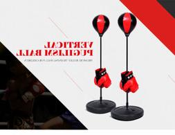 Kids Punching Ball Bag Speed Boxing Sports Set Fighting Game