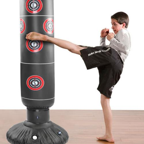 1X Free-Standing Inflatable Bag Speed Boxing