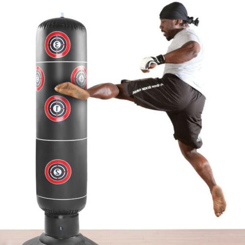1x 160cm adult free standing inflatable punching