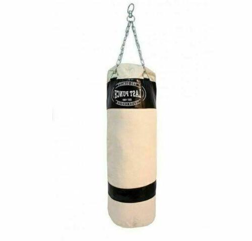 """50"""" PUNCHING BAG CHAINS Sparring Boxing Canvas Heavy Duty"""
