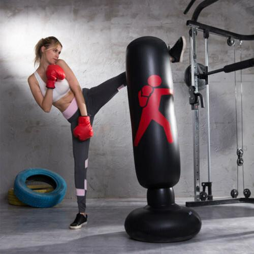 63 Inflatable Punching Bag Adult Kid Training