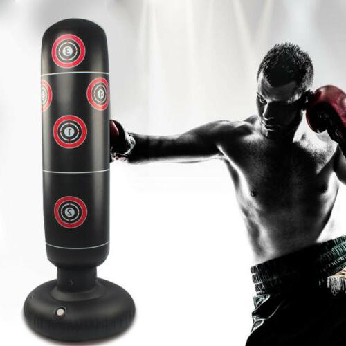 adult inflatable punching bag free standing boxing