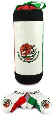 AJ Toys & Games Mexican Flag Children's Boxing Punching Bag