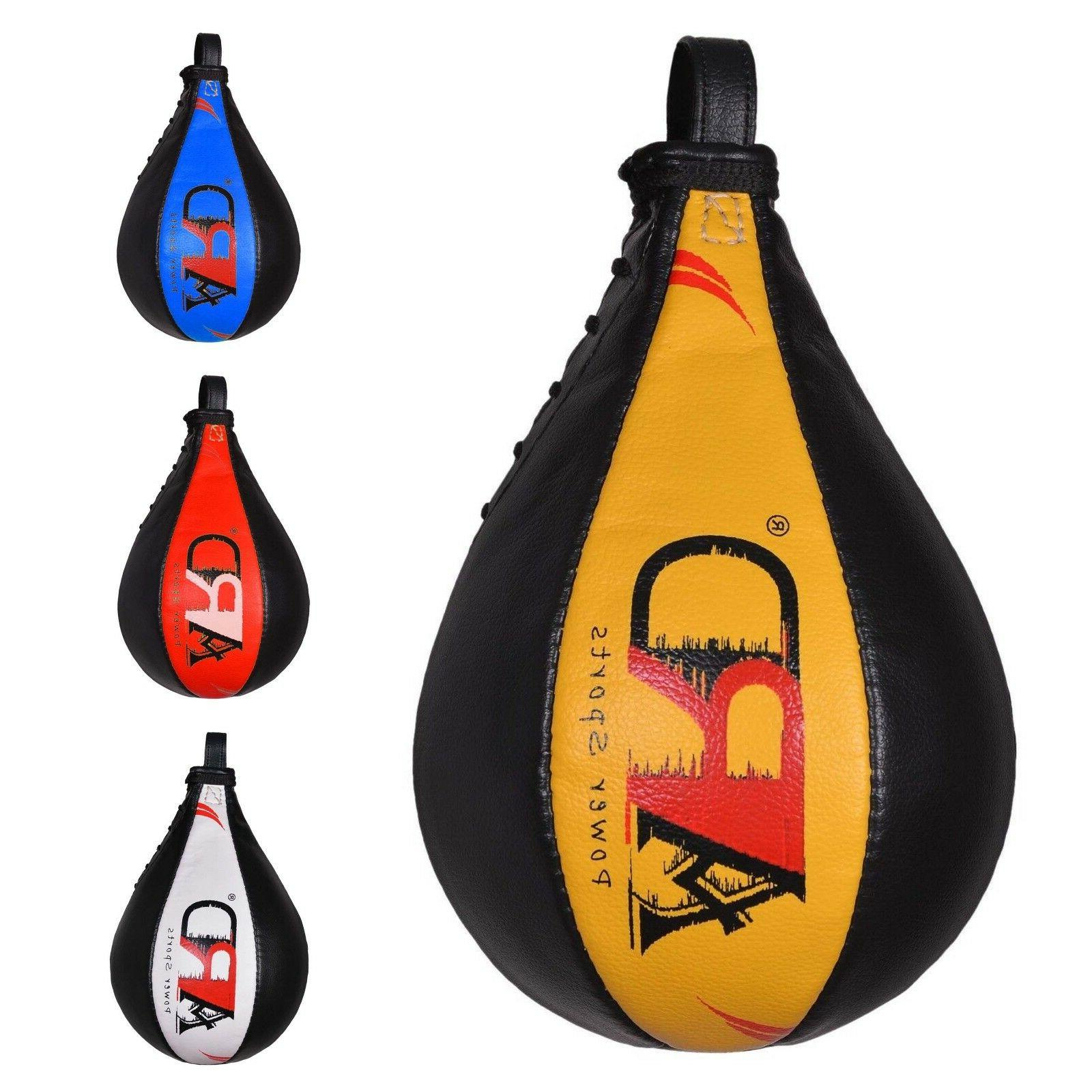 ard champs leather boxing speed ball