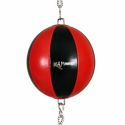 boxing double ended speed punching bag floor