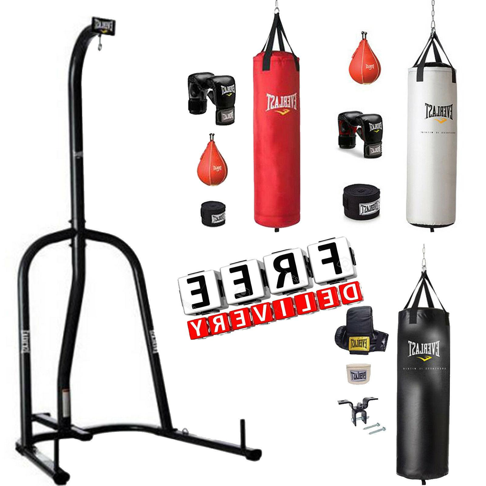 boxing equipment free stand 70lbs punching heavy