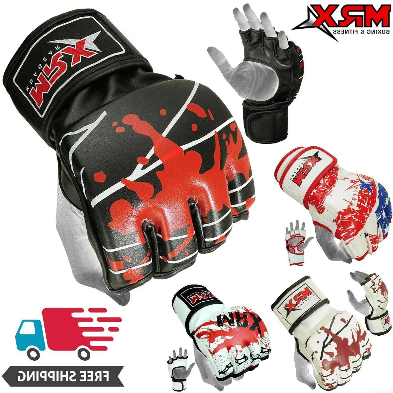 boxing mma gloves grappling punching bag training