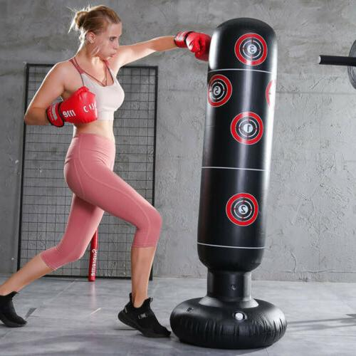 1X Inflatable Punching Bag Speed Boxing Training