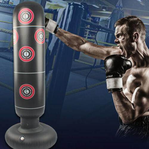Heavy Boxing Punching Bag Training Gloves Speed Set Kicking