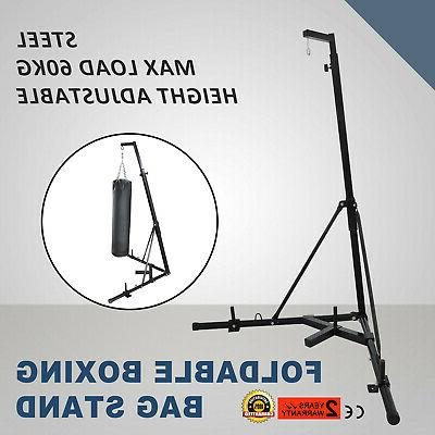 dual station heavy punching bag boxing stand