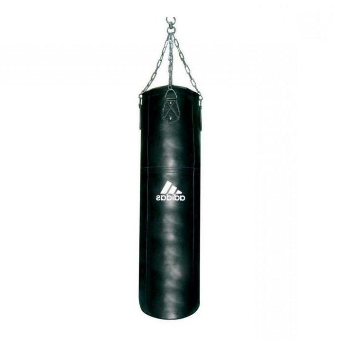 filled punching bag traning for boxing mma