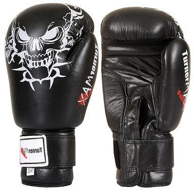genuine leather boxing gloves kick boxing mma