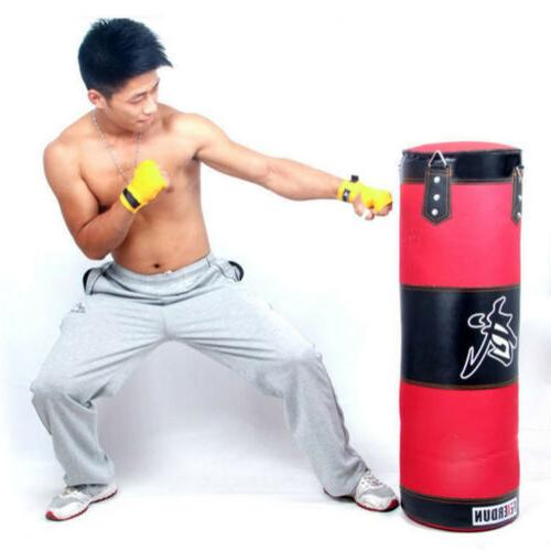 Unfilled Heavy Bag Gloves Kicking MMA Workout 80CM