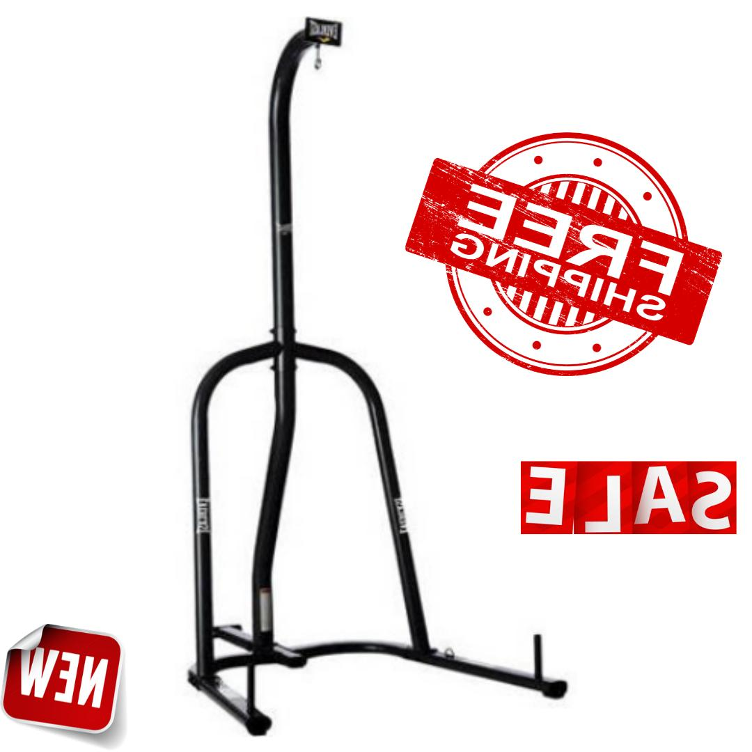 heavy punching bag boxing stand everlast dual